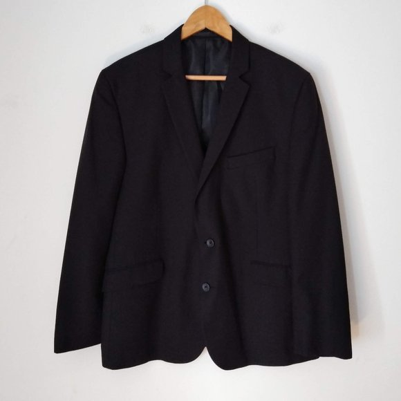 Kenneth Cole Other - Kenneth Cole Reaction Black men Blazer Two Buttons
